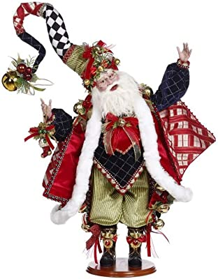 "Mark Roberts 2021 Santa's Stocking Figurine 23.5"""