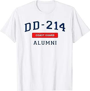 DD-214 US Coast Guard Veteran Gift DD214 Alumni Coastie Top T-Shirt