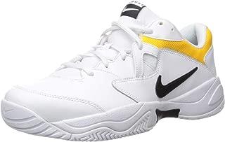 Nike Men's Court Lite 2 Sneaker, Black-White-University Gold, 10 Regular US