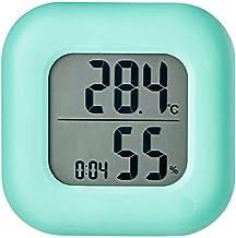Termómetro Higrómetro Termómetro electrónico termómetro y higrómetro Hogar termómetro higrómetro seco sitio del bebé del termómetro del reloj Comfort Recordatorio Digital Termohigrómetro
