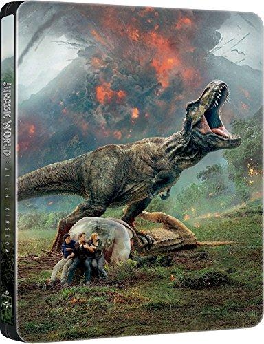 Jurassic World: Das gefallene Königreich - Limited 2D Steelbook (Import inkl. dt. Ton)