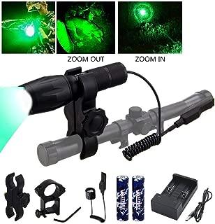 Best green varmint hunting light Reviews