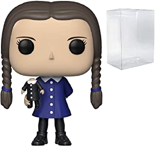 Funko Pop! TV: The Addams Family - Wednesday Addams Pop! Vinyl Figure (Includes Compatible Pop Box Protector Case)