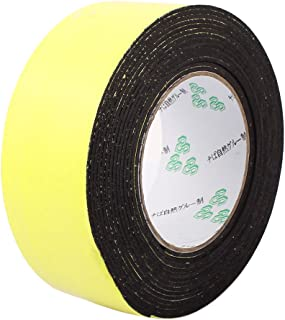 10pcs 4M 12mm x 3mm Single-side Adhesive Shockproof Sponge Foam Tape Yellow
