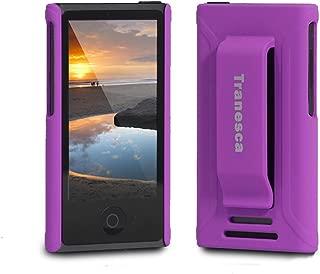 Tranesca Compatible with iPod Nano Protective case for Apple iPod Nano 7th & 8th Generation (Mystic Purple)