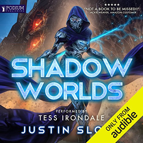 Shadow Worlds audiobook cover art