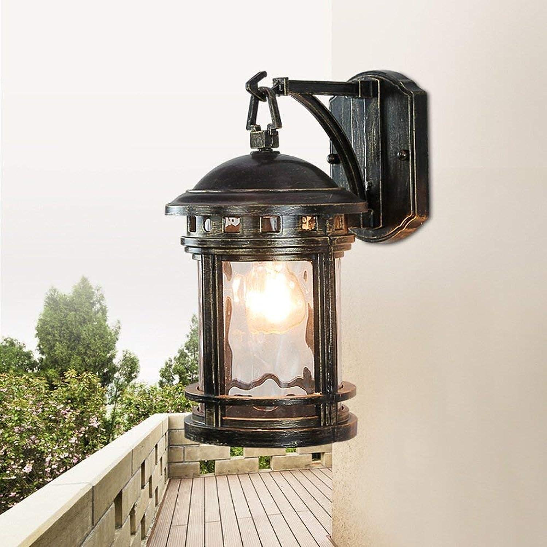 Hai Ying  Traditionelle Retro Auenwandleuchte Europische Wasserdichte Auenbeleuchtung Kreativer Garten Korridor Amerikanischen Balkon Treppe Auenwandleuchten