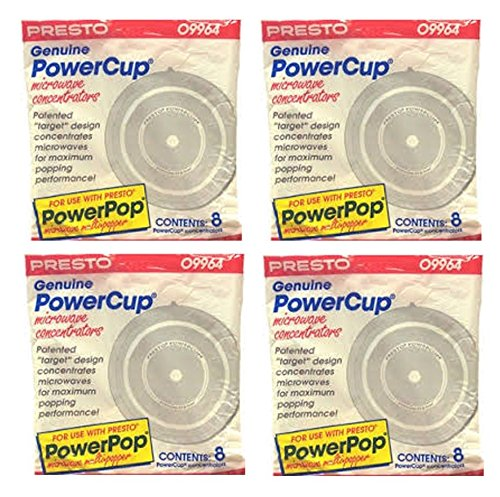 Read About 32 Presto Genuine Powercup Power Cup Microwave Popcorn Popper Concentrator-09964