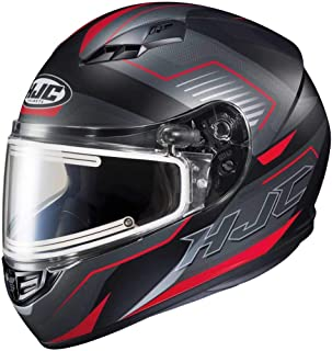 HJC CS-R3 Trion Adult Snowmobile Helmet with Electric Shield - MC-1SF / X-Large