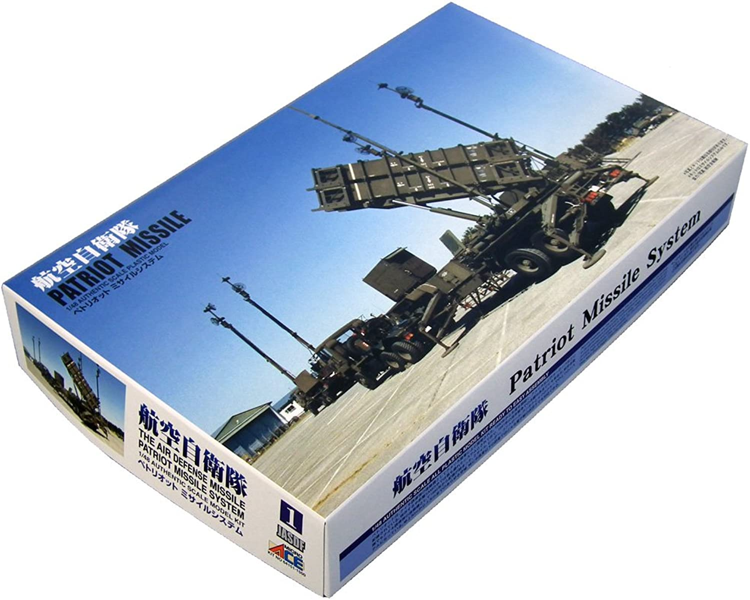 Micro Ace 1 48 Patriot system series Air Self Defense Force missile system Micro ace (japan import)