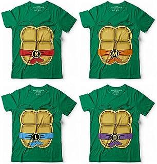 Teenage Mutant Ninja Turtles Costume Halloween Cosplay Matching Group Team  Squad Customized Handmade T-Shirt 498238ee0cc6