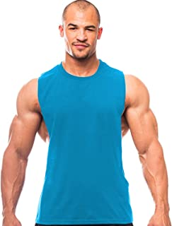 THE BLAZZE 0005 Men's Gym Tank Gym Stringer Gym Tank Stringer Bodybuilding Tank Tops Gym Vest Muscle Tee for Men