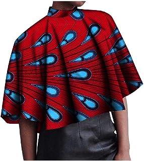 Winwinus Women's Blouse African Dashiki Baggy Style Floral Print T-Shirt Top