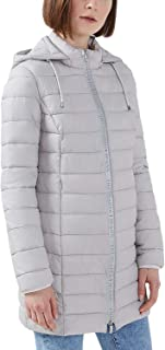 Trussardi Jeans Women's Quilted Jacket With Hood