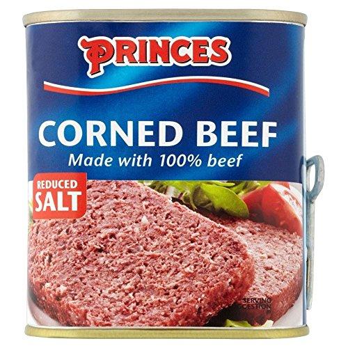 Princes Corned Beef Reducida Sal (340g)