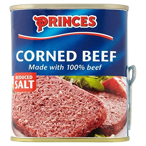 Princes Corned Beef Reducida Sal (340g)