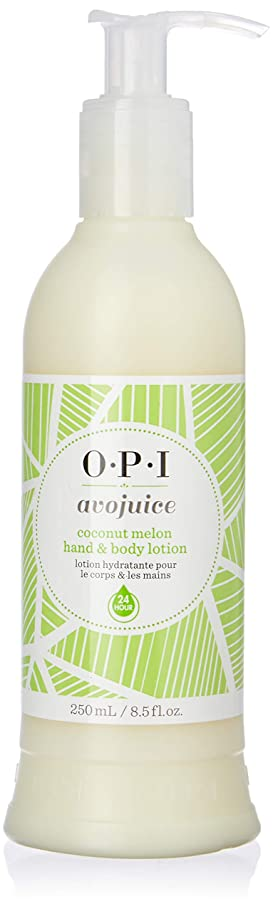 コジオスコ毒液概してOPI(オーピーアイ) アボジュース ココナッツメロン ハンド&ボディ ローション 250ml