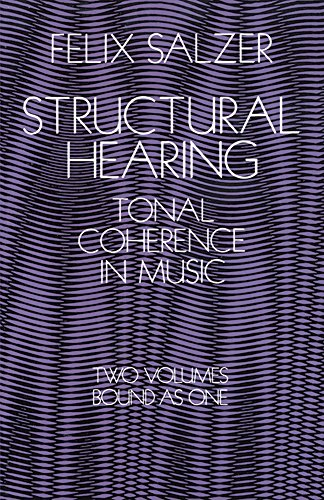 Price comparison product image Structural Hearing: Tonal Coherence in Music (Dover Books on Music)