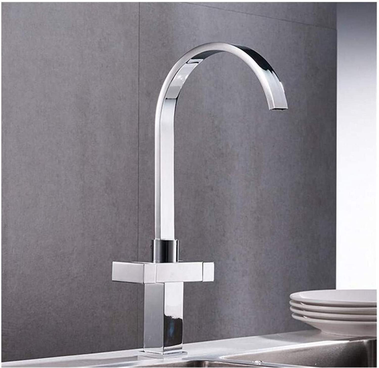Faucet Lead-Free Square Innovationfaucet 360 Degree redation Mixer Tap
