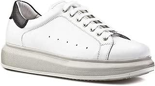 Cabani Bağcıklı Sneaker Erkek Ayakkabı Beyaz Soft Deri