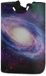 Panier à linge Dorm Station spatiale Sprial Galaxy Panier à linge pour homme Panier à linge mignon pour adolescentes 11 X ...