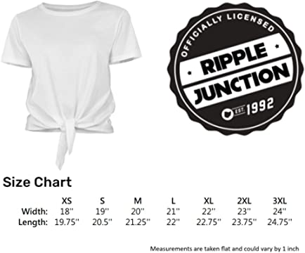 Ripple Junction Grateful Dead Sceleton Peace Fingers Hand Adult T-Shirt