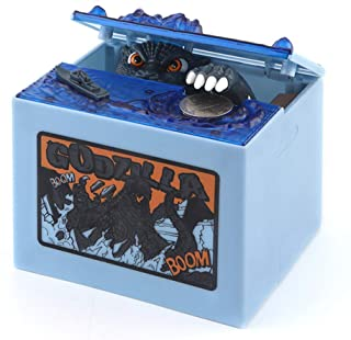 Babook- Electronic Piggy Bank , Godzilla Sound Funny Kids' Money Banks for Children