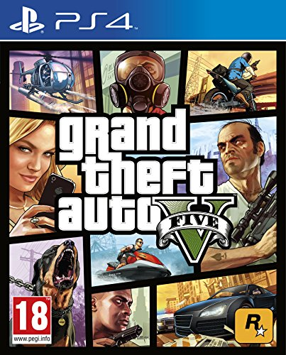 Ps4 Grand Theft Auto Five-V (u)