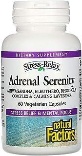 Natural Factors Stress Relax Serenity Formula with Sensoril - 60 Vegetarian Capsules