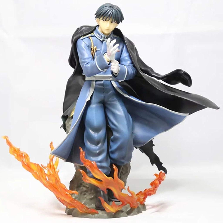 envio rapido a ti LJBOZ Fullmetal Alchemist Alchemist Alchemist Anime Statue Roy Mustang Exquisito Anime Decoración - 22CM Estatua de Juguete  hasta un 70% de descuento