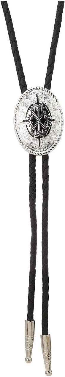 Silver/Black Tribal Pendant