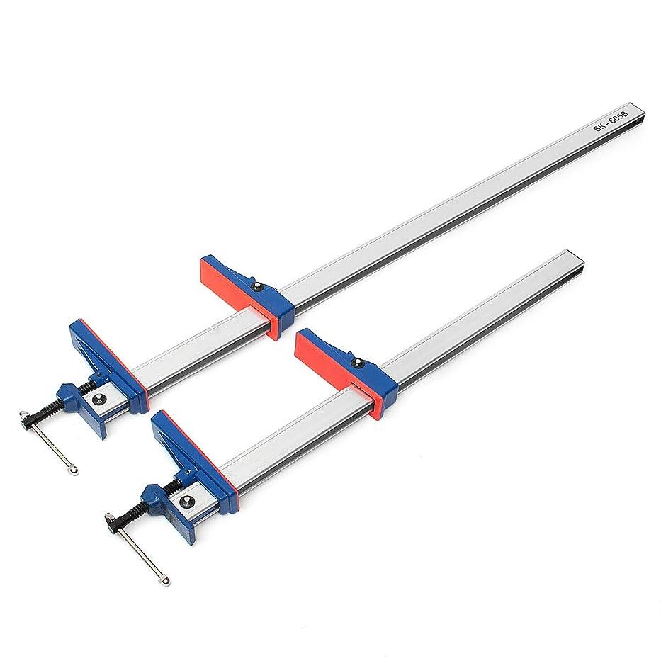 に渡って凝視アコー24/36インチアルミFクランプバーヘビーデューティホルダーグリップリリース平行調節可能木工工具 - 長さ 24 inch