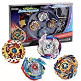 Bey Burst Evolution Starter 4 in 1 Battling Top Fusion Metal Master Rapidity