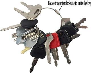 21 Keys Heavy Equipment Key Set/Construction Ignition Keys Set for Massey Ferguson Bobcat Hitachi Hyundai Case New Holland