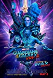 Guardians of The Galaxy 2 - U.S Movie Wall Poster Print -