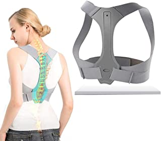 CS-BJZ Back Posture Corrector, Spinal Cord Posture Support Improve Posture Brace To Improve Thoracic Kyphosis Physical The...