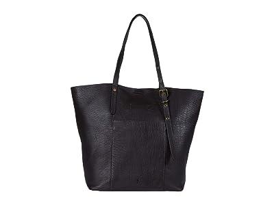Frye Gia Simple Tote (Espresso) Handbags