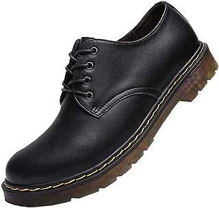 [BERLIFOOTWEAR] マーチンシューズ ワークブーツ メンズ 革靴 レースアップ レディース エンジニアブーツ カジュアル バウンジングソール ブラック