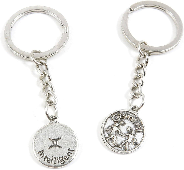 180 Pieces Fashion Jewelry Keyring Keychain Door Car Key Tag Ring Chain Supplier Supply Wholesale Bulk Lots V7NN7 Gemini