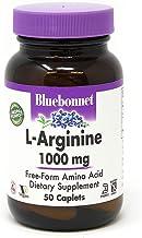 Bluebonnet L-Arginine 1000 Mg Vitamin Capsules, 50Count