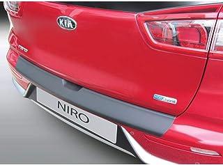 5F RGM RBP192 Protector de Parachoques Trasero ABS Seat Leon ST S//SE//FR//X-Perience//Cupra 2017-Negro