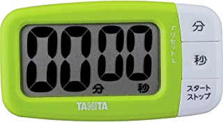 タニタ キッチン タイマー マグネット付き 大画面 100分 グリーン TD-394 GR でか見えタイマー フレッシュグリーン
