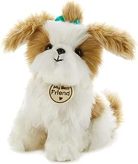 Hallmark My Best Friend Small Shih Tzu Plush Stuffed Animal