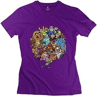Women's Muppet Alphabet T Shirt RoyalBlue