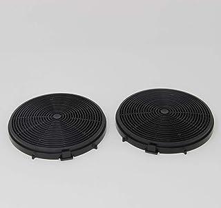 Original Bomann Aktiv Kohlefilter 257300 2 Stück Passend für Dunstabzugshaube Bomann DU 7600 und 7601