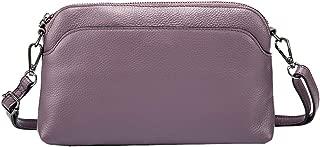 Kenoor Womens Leather Small Shoulder Handbags Hobo Bag Ladies Designer Purses for Office Lady Satchel and Crossbody Bag