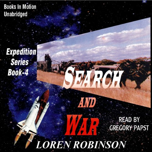 Search and War audiobook cover art