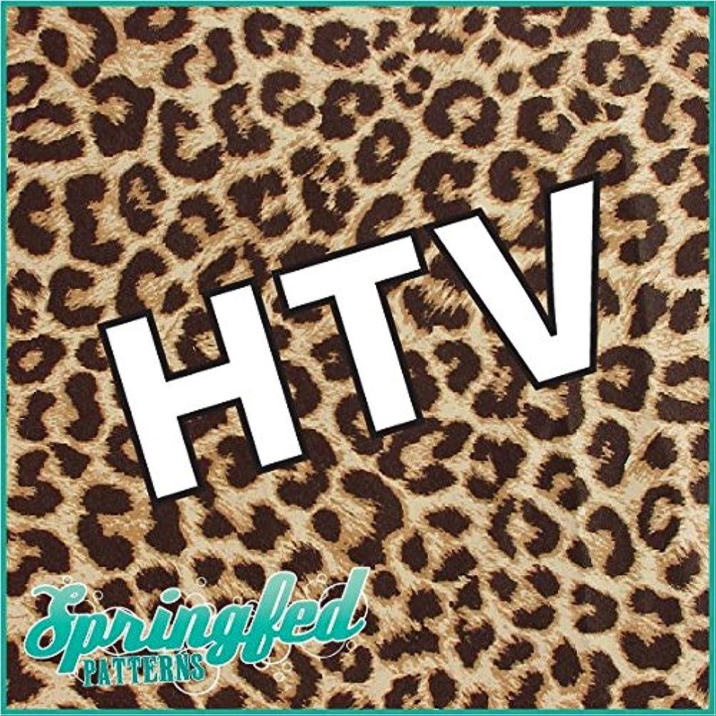 LEOPARD PRINT PATTERN #1 HTV Real Leopard Spots Heat Transfer Vinyl 12