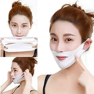 Mascarilla Reafirmante Facial Adelgazante 4D Cara Doble Con