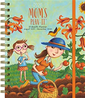 Mom's 2020 Plan-it 17-Month Planner: Includes Event/Planning Stickers